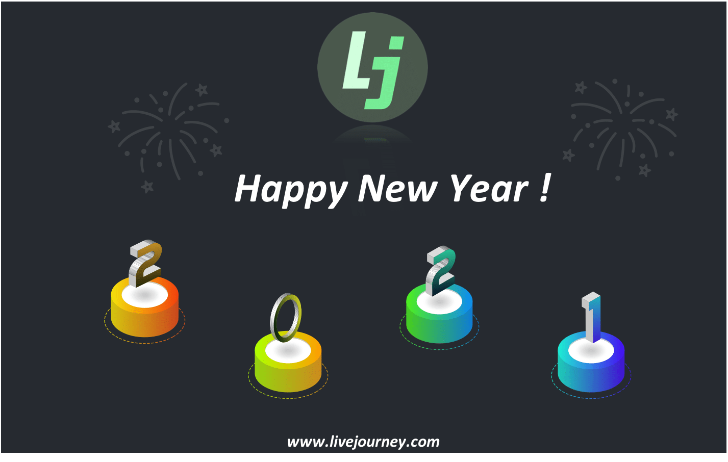 Livejourney wishes you an Happy New Year 2021