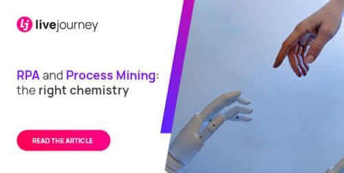 Livejourney illustration RPA et Process Mining